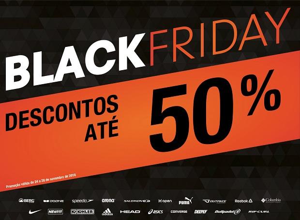 Black Friday chega às lojas Sport Zone para antecipar as compras de Natal 009903d230ac6